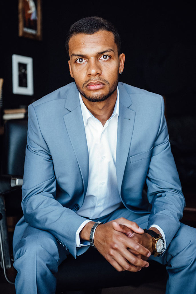 portrait man in suit