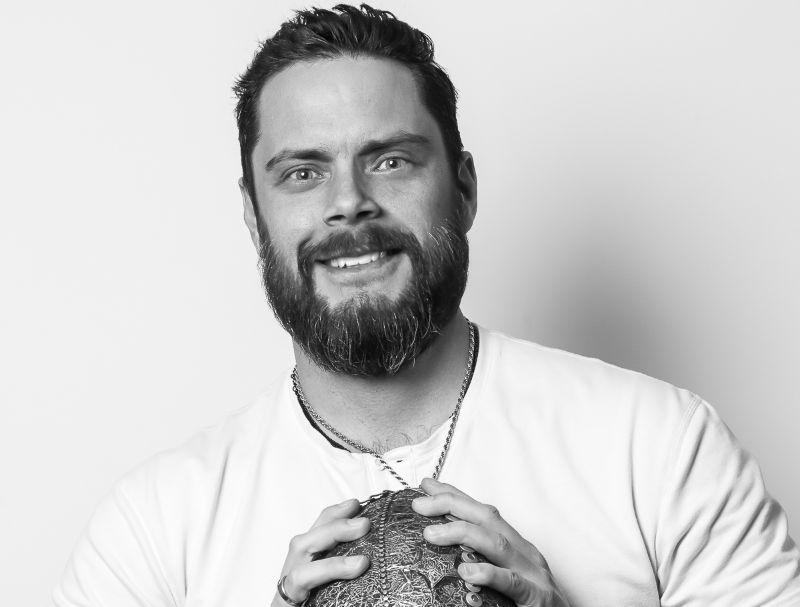 Dane Storrusten Sr. creative director for the NFL