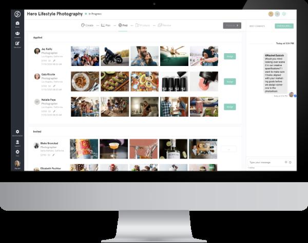centralized production on Snapwire platform